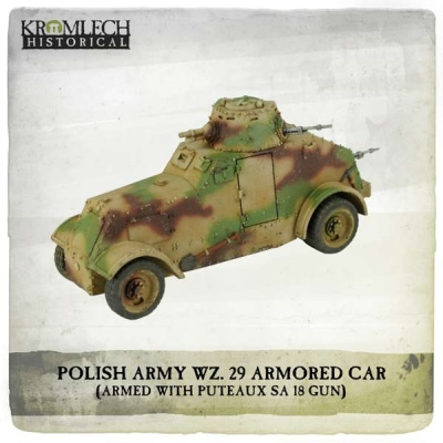 Polish Army wz. 29 Armored Car