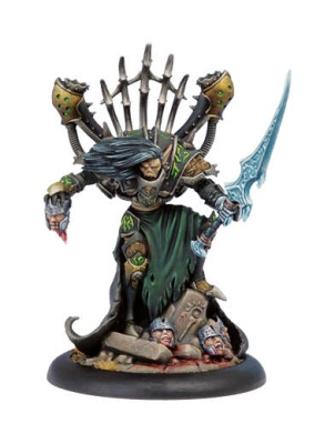 Cryx Epic Warcaster Goreshade the Cursed