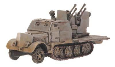 SdKfz 7/1 Armoured (Quad 2cm)