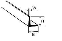 Winkelprofile (39cm klein)