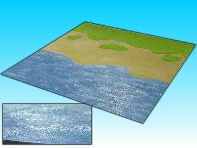 Übergangsplatte ''Meer'' 50 x 50 cm