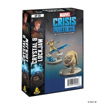 Marvel: Crisis Protocol: Crystal & Lockjaw Character Pack