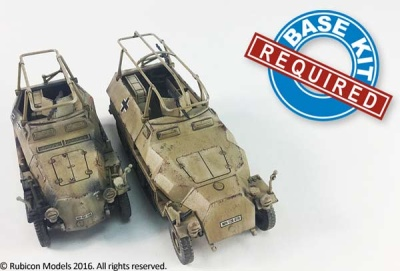 SdKfz 250/3 and 251/C expansion kit (1/56)