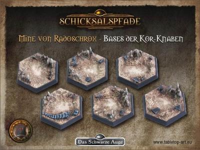 Miene von Radoschrox - Bases der Kor-Knaben