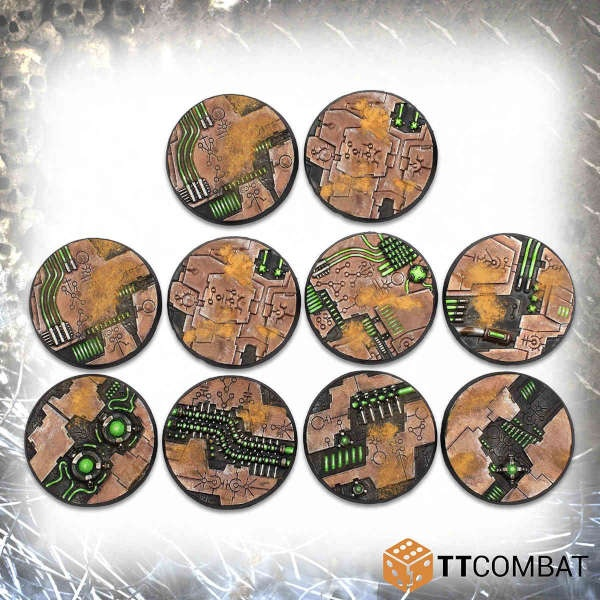 40mm Tomb World Bases (10)