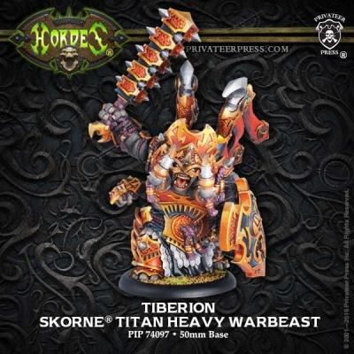 Skorne Titan Gladiator Heavy Warbeast Tiberion
