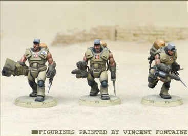 Desert Scorpions/Marines Heavy Engineer Squad