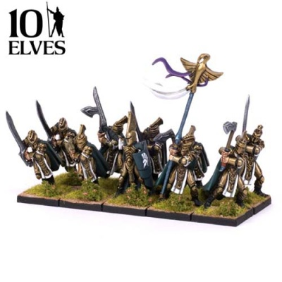 Elves Palace Guard (10) Limited Edition