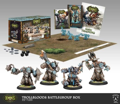 Trollblood Battlegroup Starter Box (plastic)