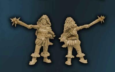 Ursel, female Barbarian w Club (1)