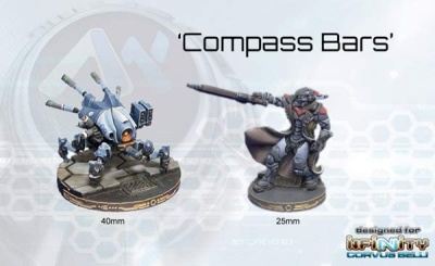 Compass Bars for 40mm Bases