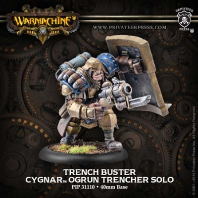 Cygnar Solo Trench Buster
