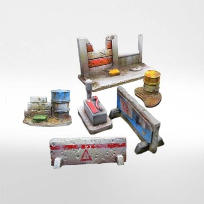 Resin Scenery Set