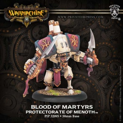 Blood of Martyrs Heavy Warjack CharacterUpgrade Kit