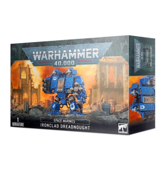 Ironclad-Cybot der Space Marines