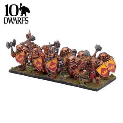 Dwarf Ironclad Command (10)