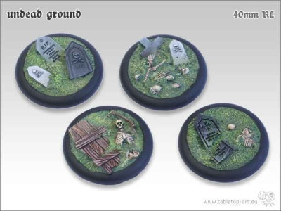 Undead Ground, 40mm Relief (2)