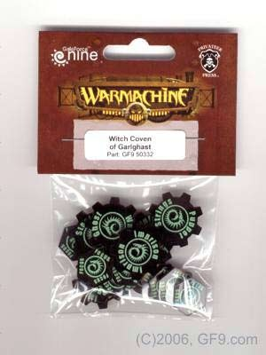 Warcaster Token Set - Cryx - Witch Coven of Garlghast (OOP)