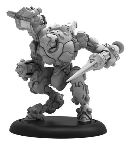 Firebrand B - Warcaster Iron Star Alliance Light Warjack