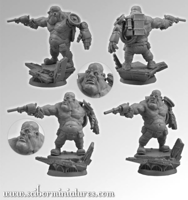 28mm SF Ogre (1)
