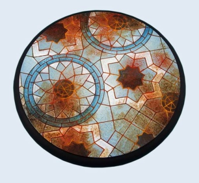 Mosaic Bases, WRound 120mm (1)