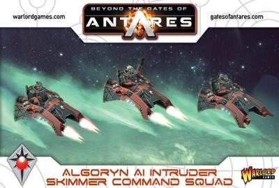 Algoryn AI Intruder Skimmer Command Squad