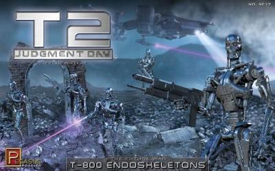 1/32 Scale: Terminator 2 T-800 Endoskeletons