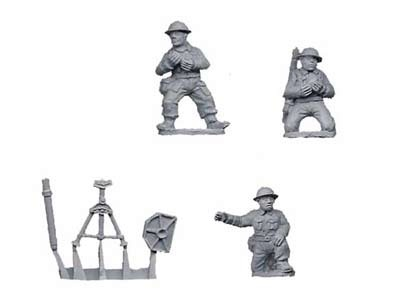 "British 3"" mortar (1 mortar, 3 crew)"