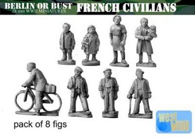 FRENCH CIVILIANS (1940'S)