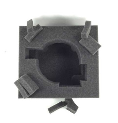 Universal 120mm Base Foam Tray