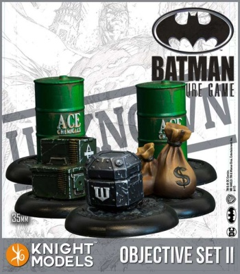 Batman Objective Game Markers Set 2