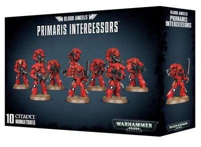 Blood Angels Primaris Intercessors