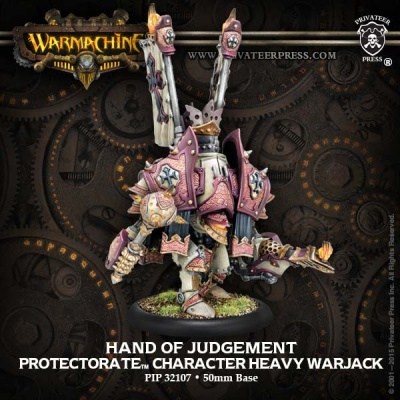 Protectorate Character Heavy Warjack Hand of Judgment
