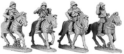 Greek Cavalry with Boiotian helmets (random 4 of