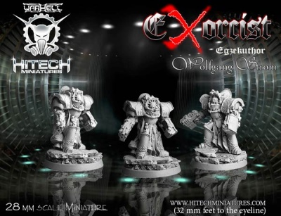 28mm Exorcist Egzekuthor Wolfgang Strom