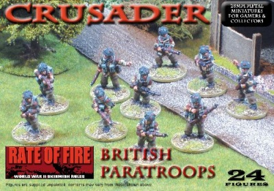 Crusader WWII: British Paratroops Box Set
