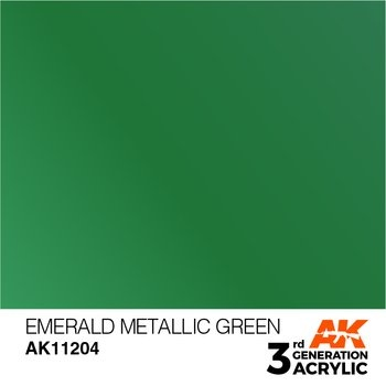Emerald Metallic Green 17ml