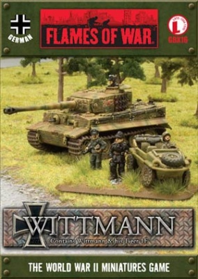 Tank Aces - Tiger 1E Wittmann box