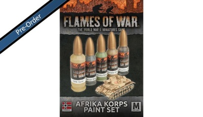 Afrika Korps Paint Set (5)