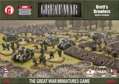 Brett's Brawlers (US Army Great War Deal)
