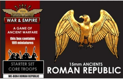 War & Empire Starter Set: REPUBLICAN ROMAN