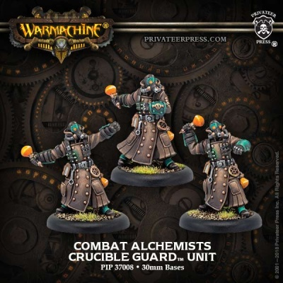 Combat Alchemists - Golden Crucible Unit (3)