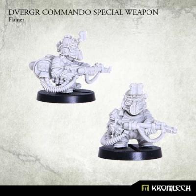 Dvergr Commando Special Weapon : Flamer