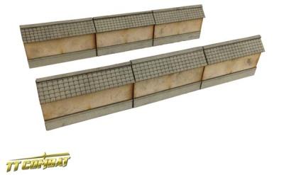 Yagura Straight Wall Sections (6)