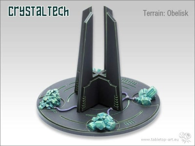 Crystal Tech: Obelisk
