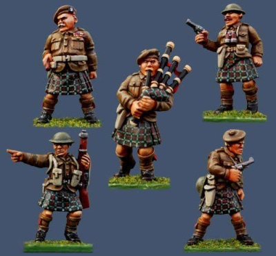 Highland Infantry Command