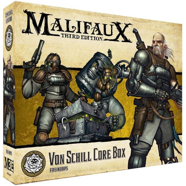 Malifaux (M3E): Von Schill Core Box