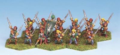 Wood Elf Swordmasters (24)