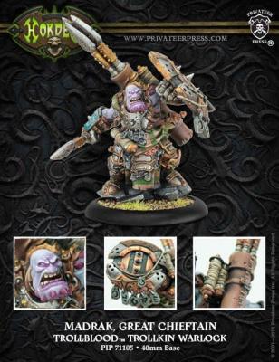 Trollblood Warlock Madrak, Great Chieftan