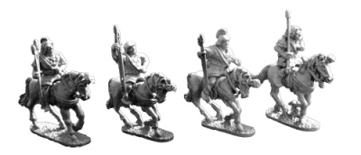 Spanish Unarmoured Cavalry (4)